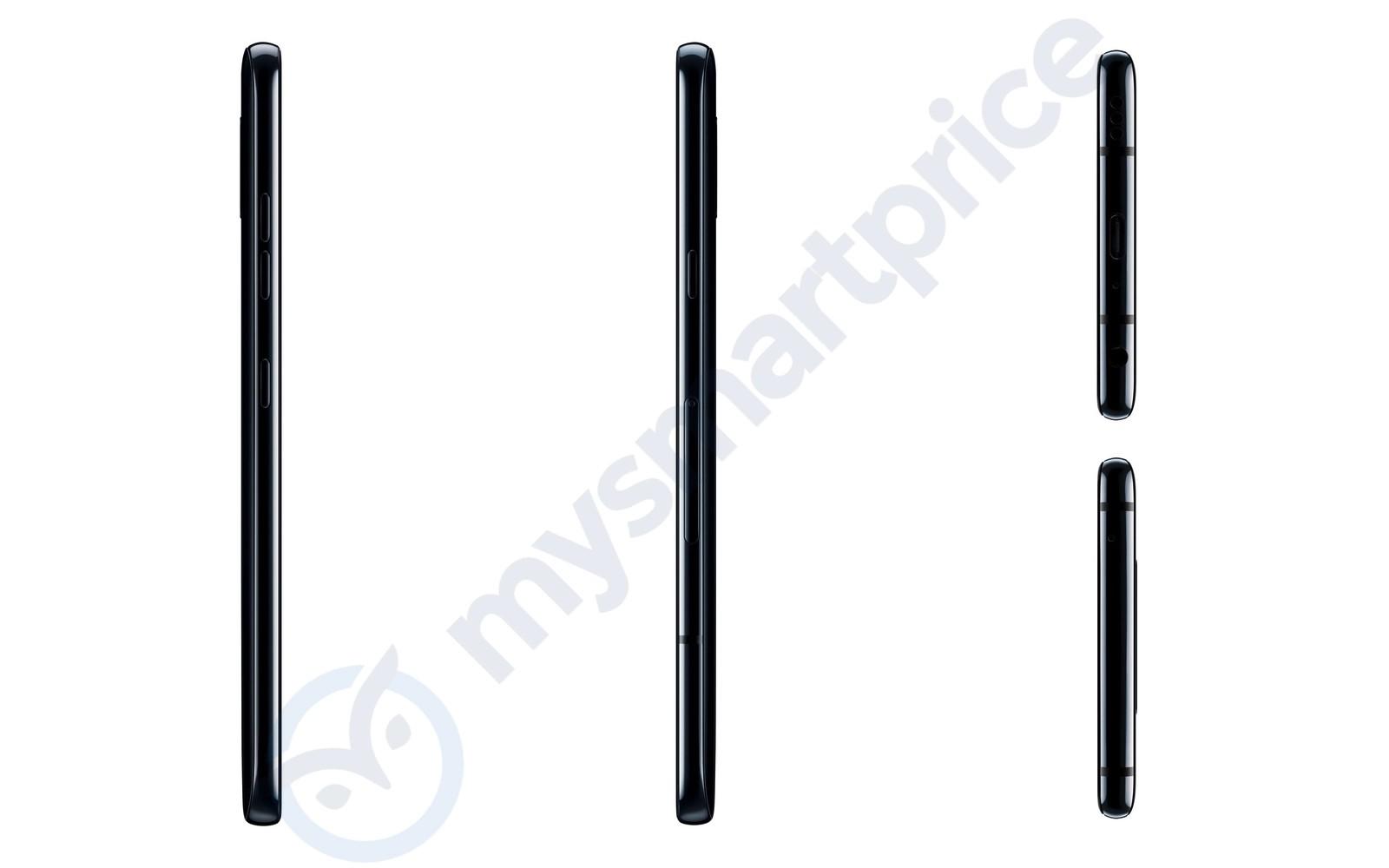 Рендеры LG V40 ThinQ подтверждают наличие у смартфона пяти камер и выреза на экране