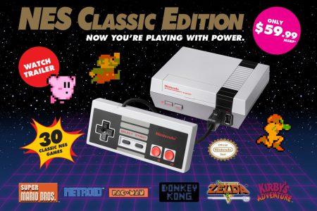 В июне ретро-консоль Nintendo NES Classic обогнала по продажам приставки Xbox One и PS4