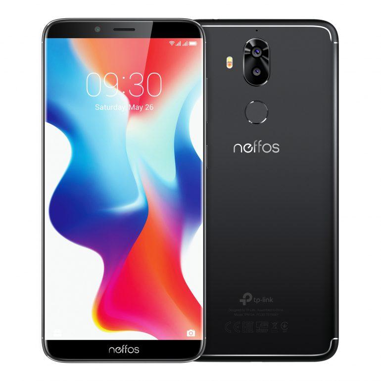 TP-Link вывел на украинский рынок три смартфона с дисплеями FullView 18:9 — Neffos X9, Neffos C9 и Neffos C9A по цене от 2999 грн до 4999 грн