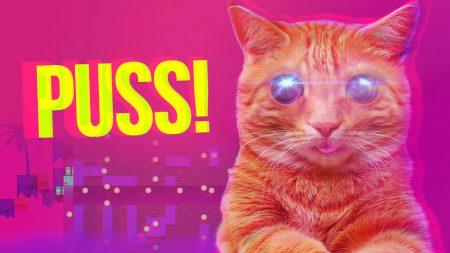 Украинская студия teamCOIL выпустила в Steam психоделическую игру про котика в параллельной вселенной PUSS!