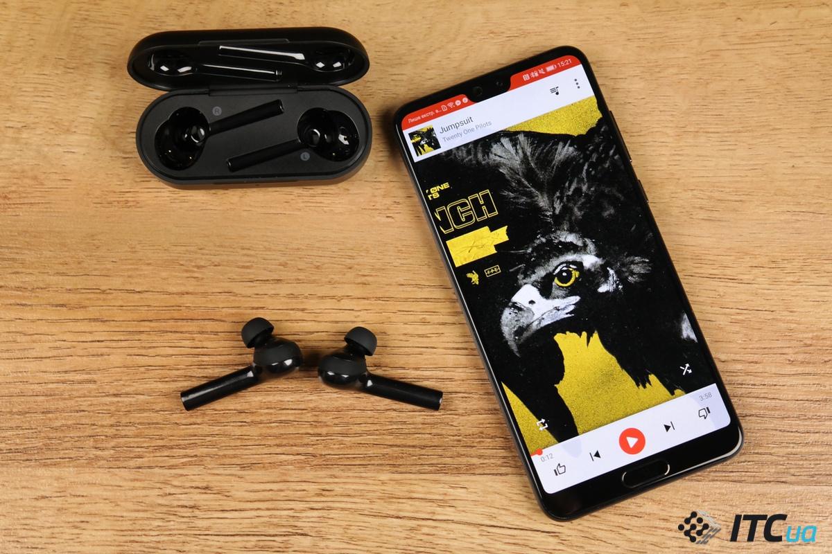 звук Huawei FreeBuds