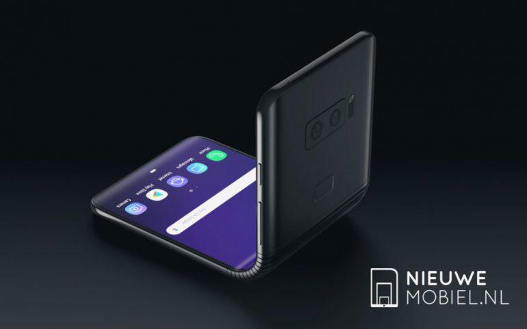 Новые концептуальные рендеры показывают, как может выглядеть первый гибкий смартфон Samsung