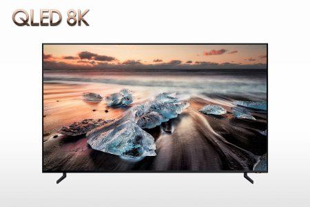 Samsung начнет продавать 8K-телевизоры QLED уже в следующем месяце