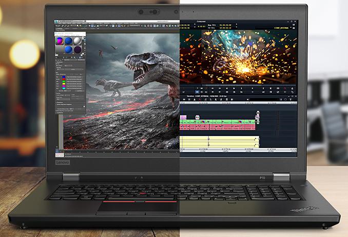 «Самый компактный и самый производительный»: Lenovo представила новые профессиональные ноутбуки Thinkpad P1 и Thinkpad P72
