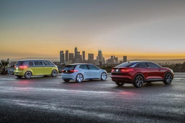 Серийные электромобили VW I.D. и I.D. CROZZ получат «горячие» версии от спортивного подразделения Volkswagen R