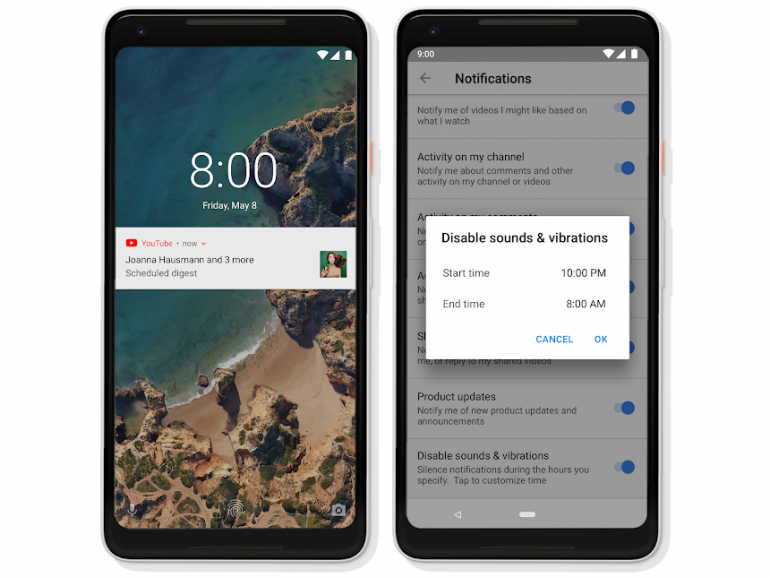 YouTube добавил счетчик времени просмотренных видео, напоминания о необходимости сделать перерыв и ежедневную сводку уведомлений