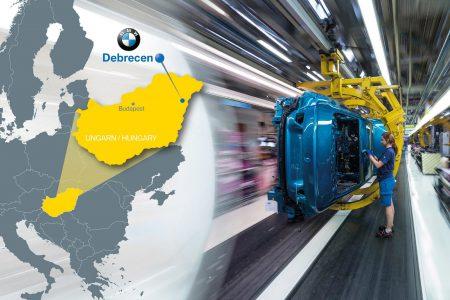 BMW построит новую фабрику для производства электромобилей в Венгрии, инвестиции составят 1 млрд евро