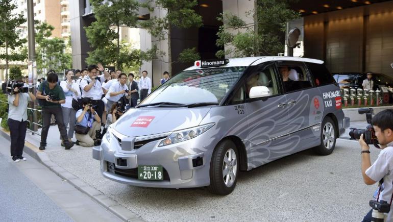 В Японии тестируют беспилотное такси с реальными пассажирами