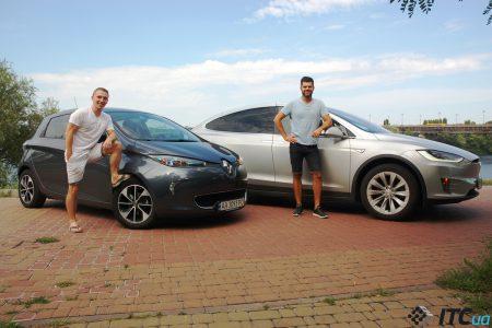 На электрокаре по Европе: опыт украинцев с Tesla Model X и Renault ZOE