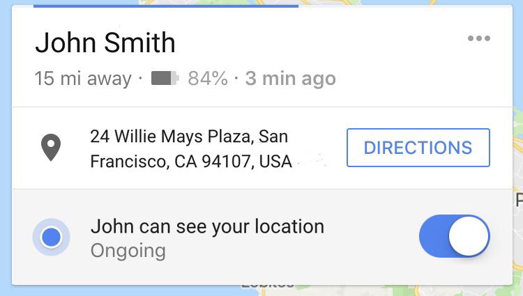 В Google Maps добавили возможность делиться информацией об уровне заряда смартфона, данные доступны в рамках функции «Передача геоданных»