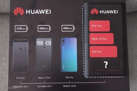 Рекламное изображение смартфона Huawei Mate 20 Pro указывает на аккумулятор самой большой емкости