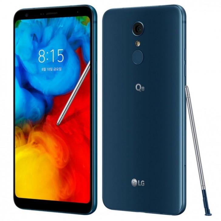 LG Q8 (2018) – защищенный смартфон среднего уровня с огромным экраном и стилусом