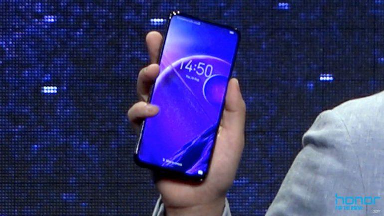 Honor показала безрамочный смартфон Magic 2 с поддержкой 40-ваттной быстрой зарядки