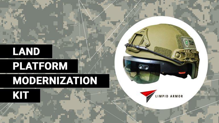 Украинский стартап LimpidArmor показал возможности AR-системы модернизации бронетехники, установленной на танке Т-64