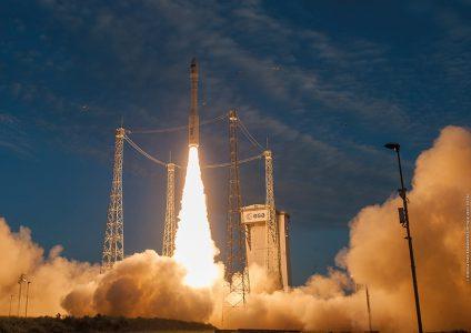 Осуществлён успешный 12-й старт европейской ракеты Vega с украинским двигателем