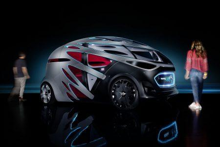 Mercedes-Benz Vision URBANETIC — концепт автономного электромобиля со сменными модулями для перевозки пассажиров и грузов