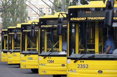 До конца года Киев должен объявить крупный тендер на закупку нового пассажирского транспорта на сумму в 50 млн евро