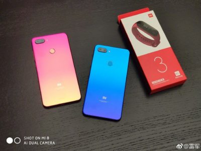 Глава Xiaomi показал Mi 8 Youth Edition (Mi 8 Lite) в градиентных расцветках за пару часов до анонса, смартфон уже можно купить