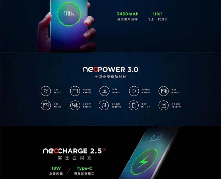 Анонсирован флагманский смартфон Nubia Z18 с 6-дюймовым дисплеем, SoC Snapdragon 845 и ценой от $409