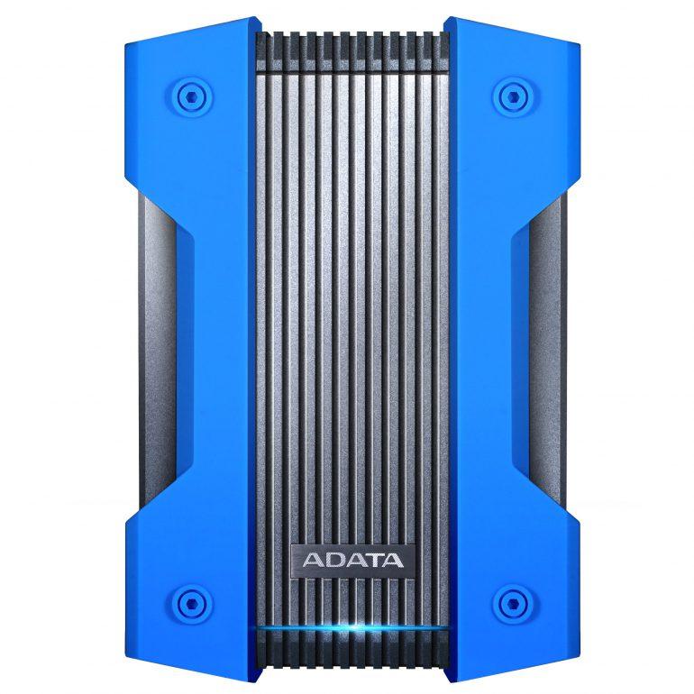 ADATA представила свой самый защищенный внешний HDD-диск HD830