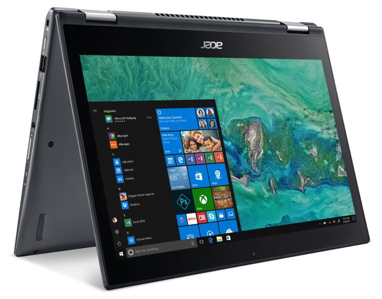 В Украине стартовали продажи ноутбуков-трансформеров Acer Spin 5 по цене от 26999 грн
