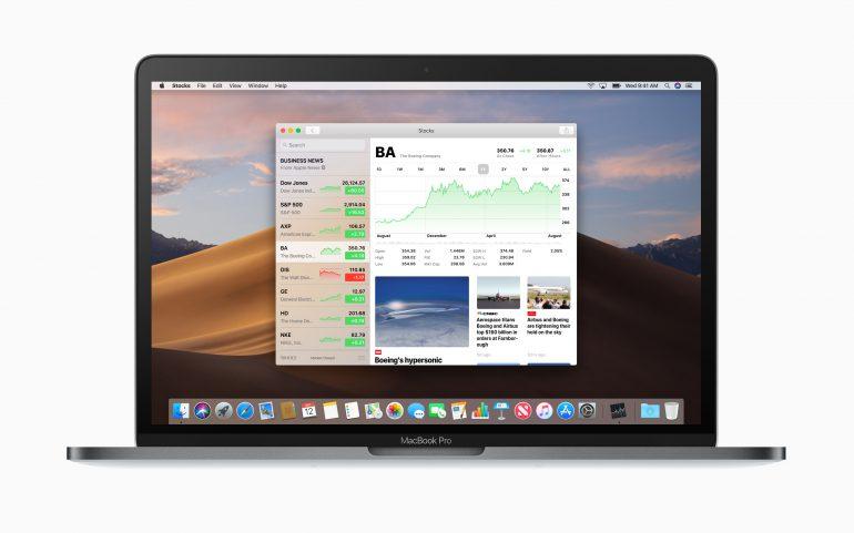 Финальная версия ОС macOS Mojave доступна для свободного скачивания (главные новшества и список совместимых моделей)