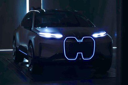 Немцы показали тизерное видео своего флагманского электромобиля BMW Vision iNEXT, анонс состоится 9 сентября 2018 года