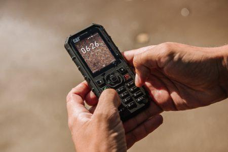 Caterpillar представила защищенный «фичерфон» Cat B35 с поддержкой 4G