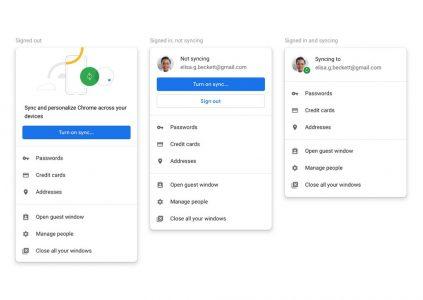 В Chrome 70 можно будет отключить автоматическую авторизацию Chrome Sync