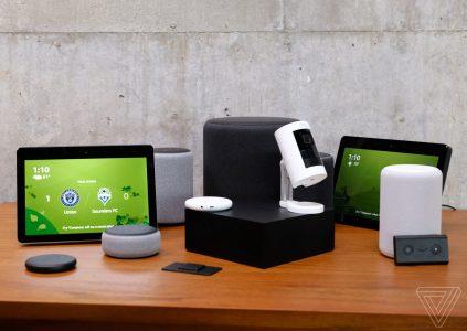 Колонки, часы, розетка и даже микроволновка: Amazon показала множество новых умных аппаратных продуктов