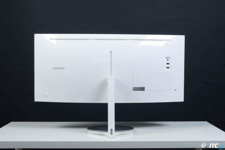 дизайн Samsung C34J791