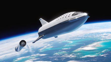 Илон Маск представил обновленный проект ракеты-носителя BFR и космического корабля BFS для полетов к Марсу и путешествий по всей Солнечной системе