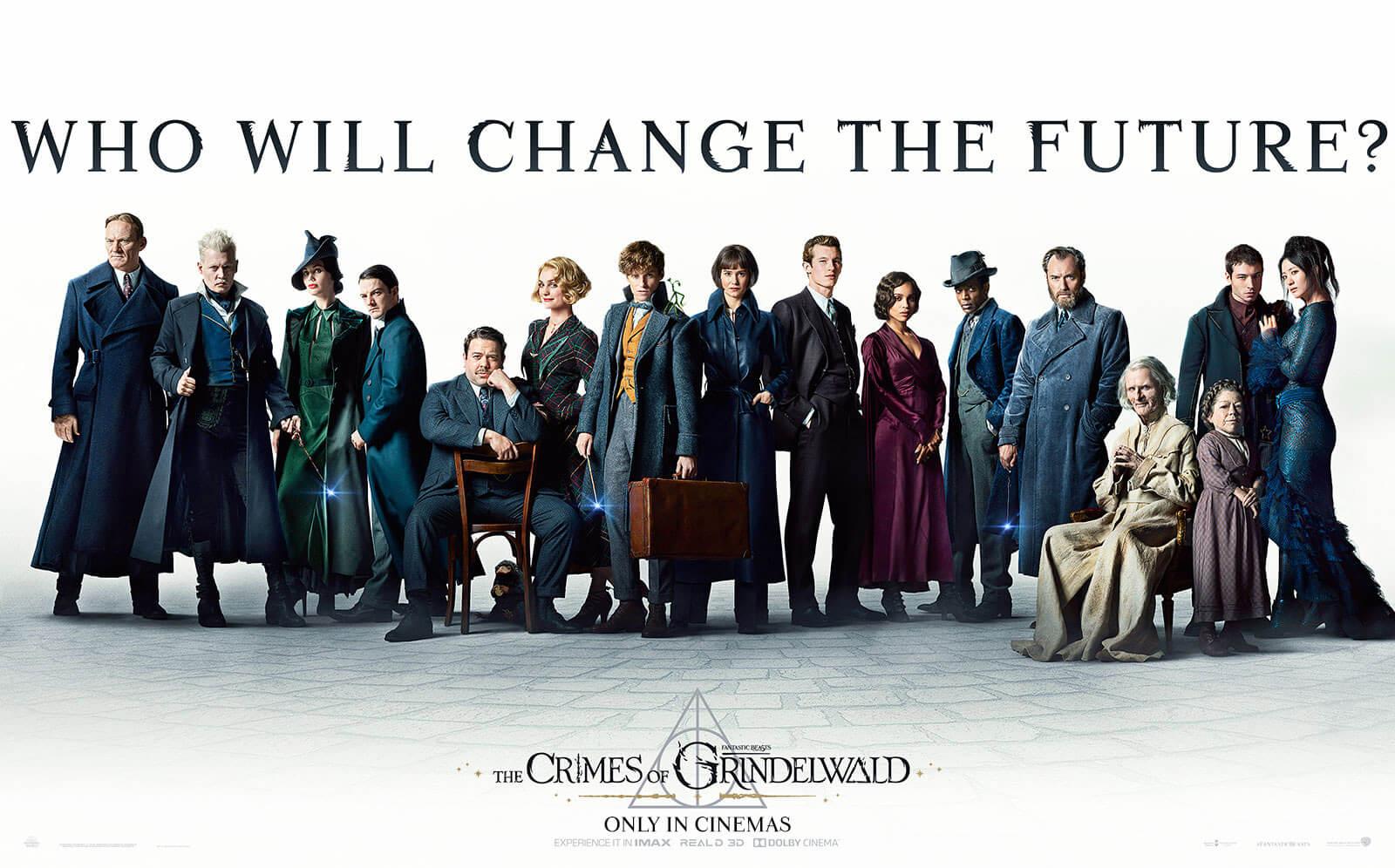 Вышел финальный трейлер фильма Фантастические звери Преступления Гриндевальда  Fantastic Beasts The Crimes of Grindelwald