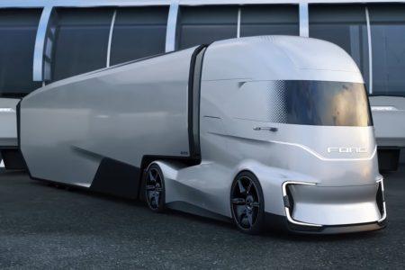 Создатели концепта электрического грузовика Ford F-Vision Future Truck показали «сюжетное» видео своей разработки