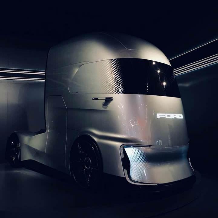 Ford F-Vision Future Truck — концепт электрического грузовика, дизайн которого вдохновлен супергероями Marvel (и немного Tesla Semi)