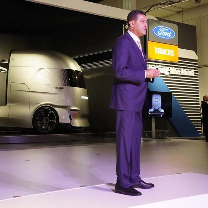 Ford F-Vision Future Truck - концепт электрического грузовика, дизайн которого вдохновлен супергероями Marvel (и немного Tesla Semi)