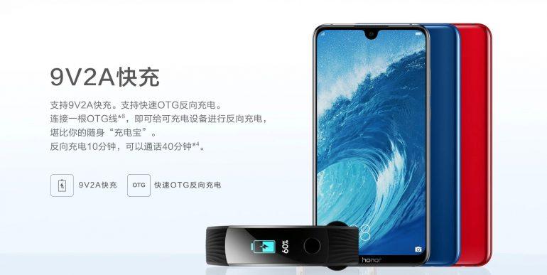 Представлены смартфоны Honor 8X и Honor 8X Max с крупными дисплеями и ёмкими батареями