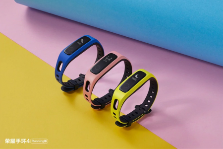 Представлен фитнес-трекер Honor Band 4 с цветным AMOLED-дисплеем и постоянным отслеживанием сердечного ритма