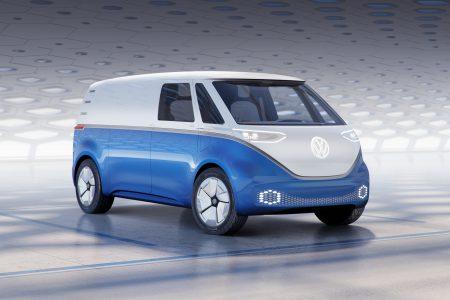 Volkswagen I.D. BUZZ CARGO Ч грузова¤ верси¤ электрического минивэна I.D. BUZZ с мощностью 150 к¬т, батареей на 48-111 к¬тч и запасом хода 330-550 км (WLTP)