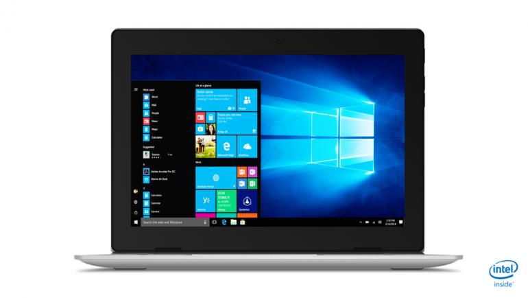 В Украине стартовали продажи планшета-трансформера Lenovo ideapad D330 по цене от 11999 гривен