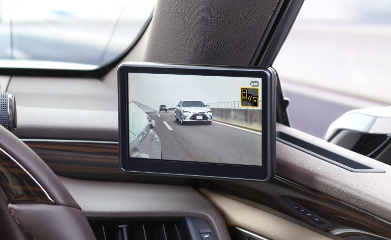 Первым серийным автомобилем с виртуальными наружными зеркалами станет Lexus ES, но продаваться он будет только в Японии