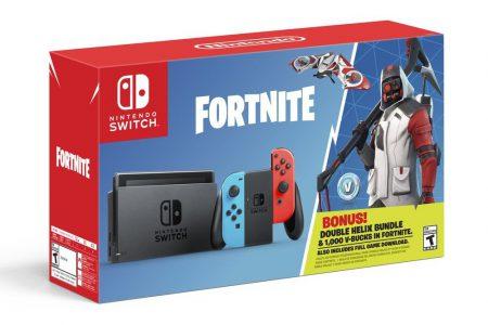 Бандл Nintendo Switch: Fortnite с игрой, уникальным контентом и 1000 V-bucks поступит в продажу 5 октября по цене $300