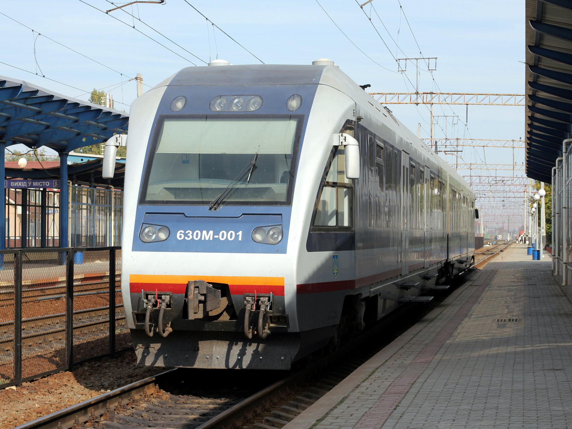По маршруту экспресса «ЖД-вокзал — аэропорт «Борисполь»» будут курсировать «рельсовые автобусы» польской компании Pesa Bydgoszcz SA