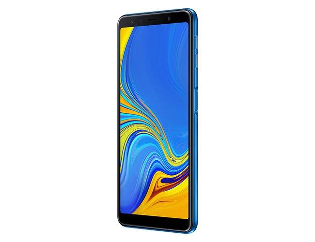 Samsung представила Galaxy A7 (2018) — свой первый смартфон с тройной основной камерой