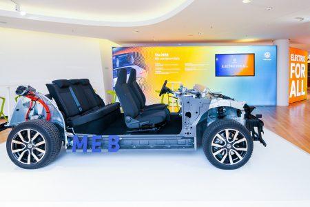 Volkswagen представил платформу MEB и запустил кампанию ELECTRIC FOR ALL, в рамках которой обещает вывести на рынок доступные «универсальные электромобили»