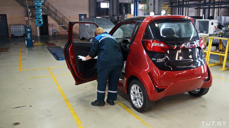 В Беларуси стартовала сборка китайских электромобилей Zotye E200EV с запасом хода 220 км, первые экземпляры стоимостью $17 тыс. поступят в продажу в текущем месяце