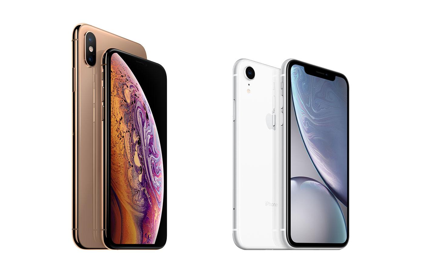 Дизайн iPhone XR и Phone XS Max