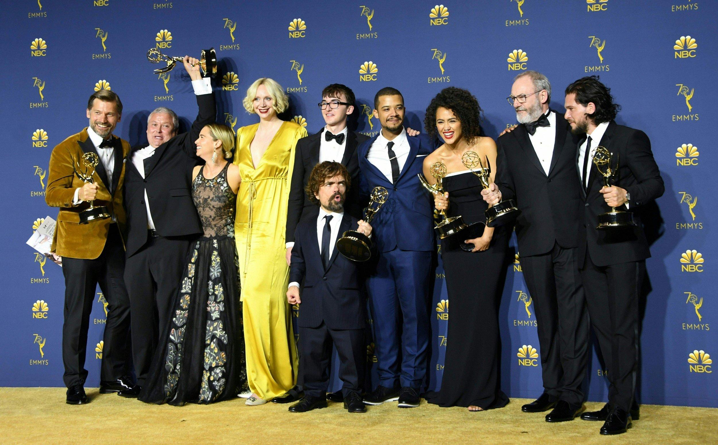 Победителем юбилейной премии Emmy Awards стал сериал «Игра престолов»