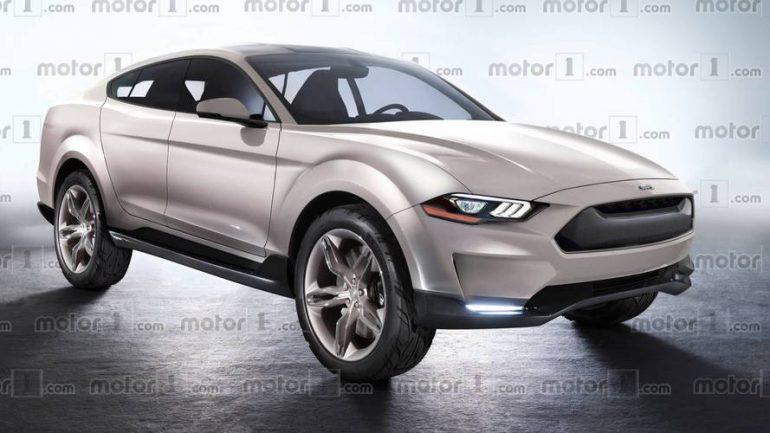 Ford опубиковал первый тизер электромобиля Mach 1, при создании которого компания вдохновлялась дизайном спорткупе Mustang