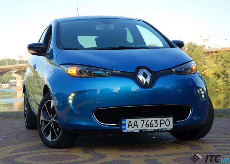 Размышляем за рулем Renault ZOE о будущем электрокаров в мире и Украине